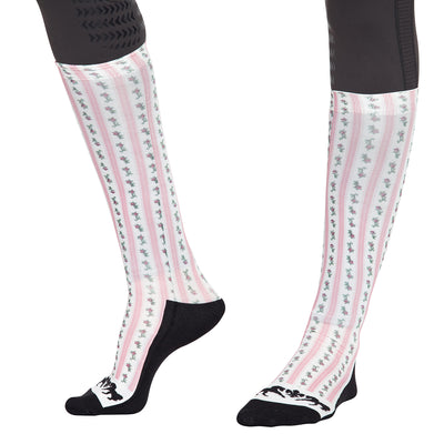 Ladies Isabel Padded Knee Hi Boot Socks - Equine Couture - Breeches.com