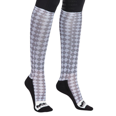 Equine Couture Ladies Isabel Padded Knee Hi Boot Socks - Breeches.com