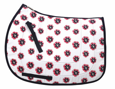 Equine Couture Carla Cool-Rider Bamboo All Purpose Saddle Pad - Equine Couture - Breeches.com