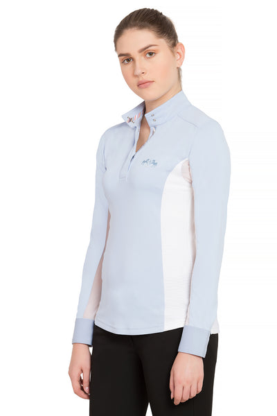 Equine Couture Ladies Cara Long Sleeve Show Shirt - Equine Couture - Breeches.com