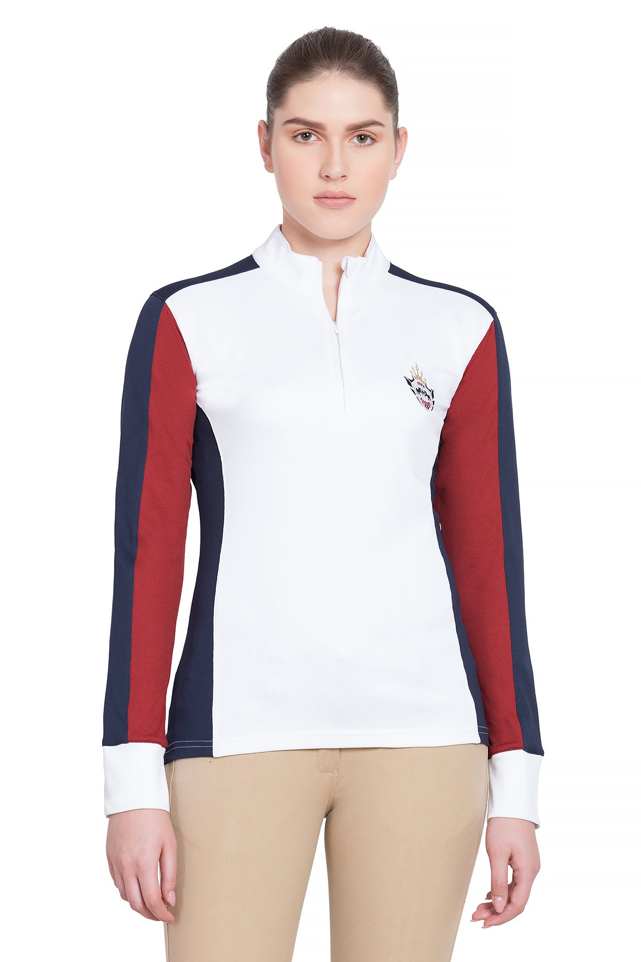 Equine Couture Ladies Dennison Long Sleeve Sport Shirt - Equine Couture - Breeches.com