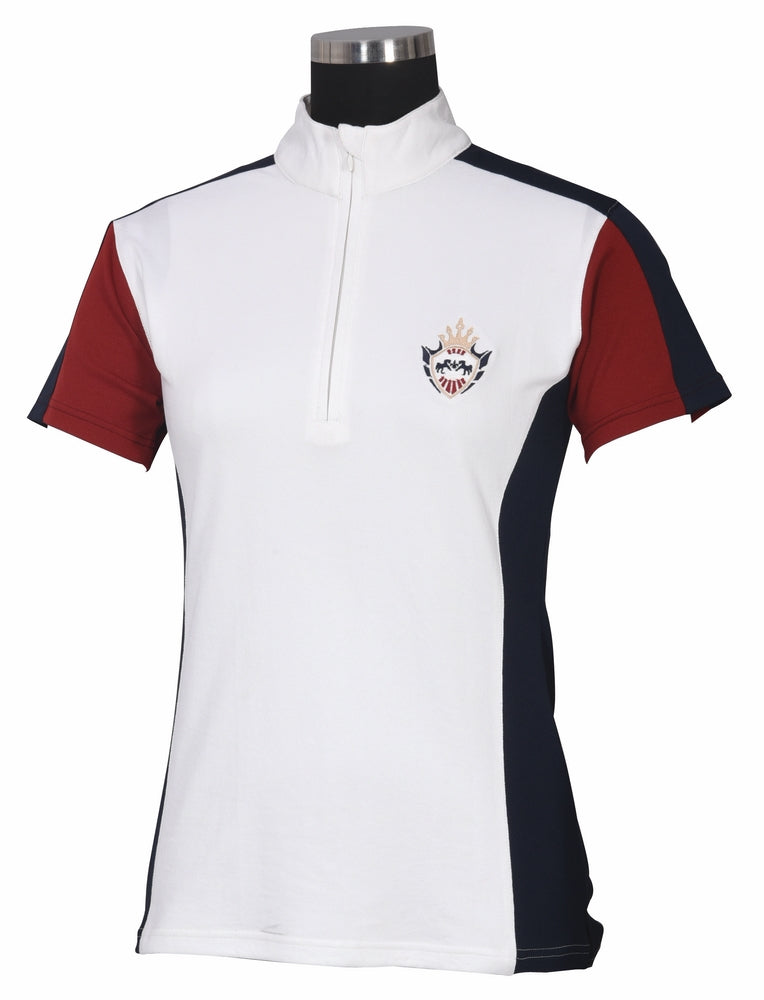 Equine Couture Ladies Dennison Short Sleeve Sport Shirt - Equine Couture - Breeches.com