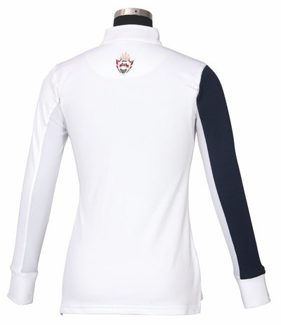 Equine Couture Ladies Danvers Long Sleeve Sport Shirt - Equine Couture - Breeches.com