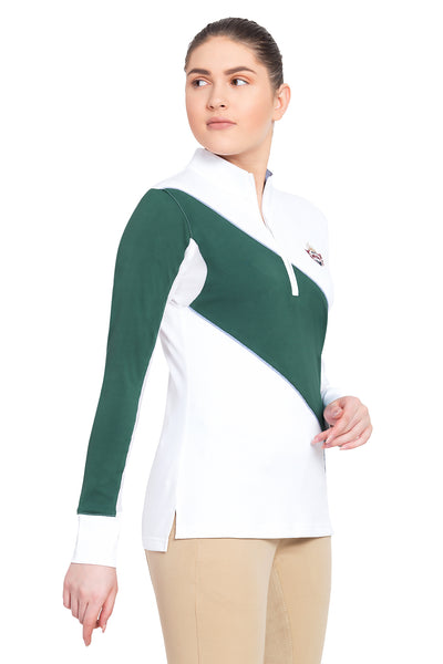 Equine Couture Ladies Danvers Long Sleeve Sport Shirt_5