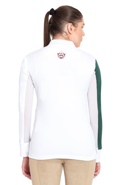 Equine Couture Ladies Danvers Long Sleeve Sport Shirt - Breeches.com
