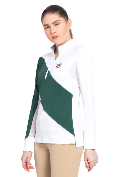 Equine Couture Ladies Danvers Long Sleeve Sport Shirt_4