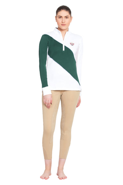 Ladies Danvers Long Sleeve Sport Shirt - Equine Couture - Breeches.com