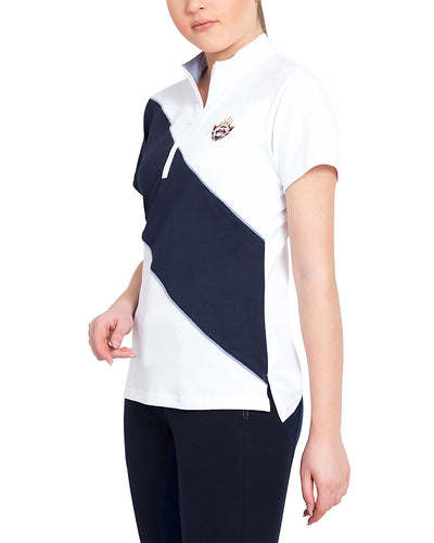 Equine Couture Ladies Danvers Short Sleeve Sport Shirt - Equine Couture - Breeches.com