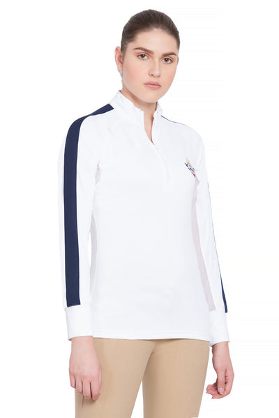 Equine Couture Ladies Jordan Long Sleeve Sport Shirt - Breeches.com