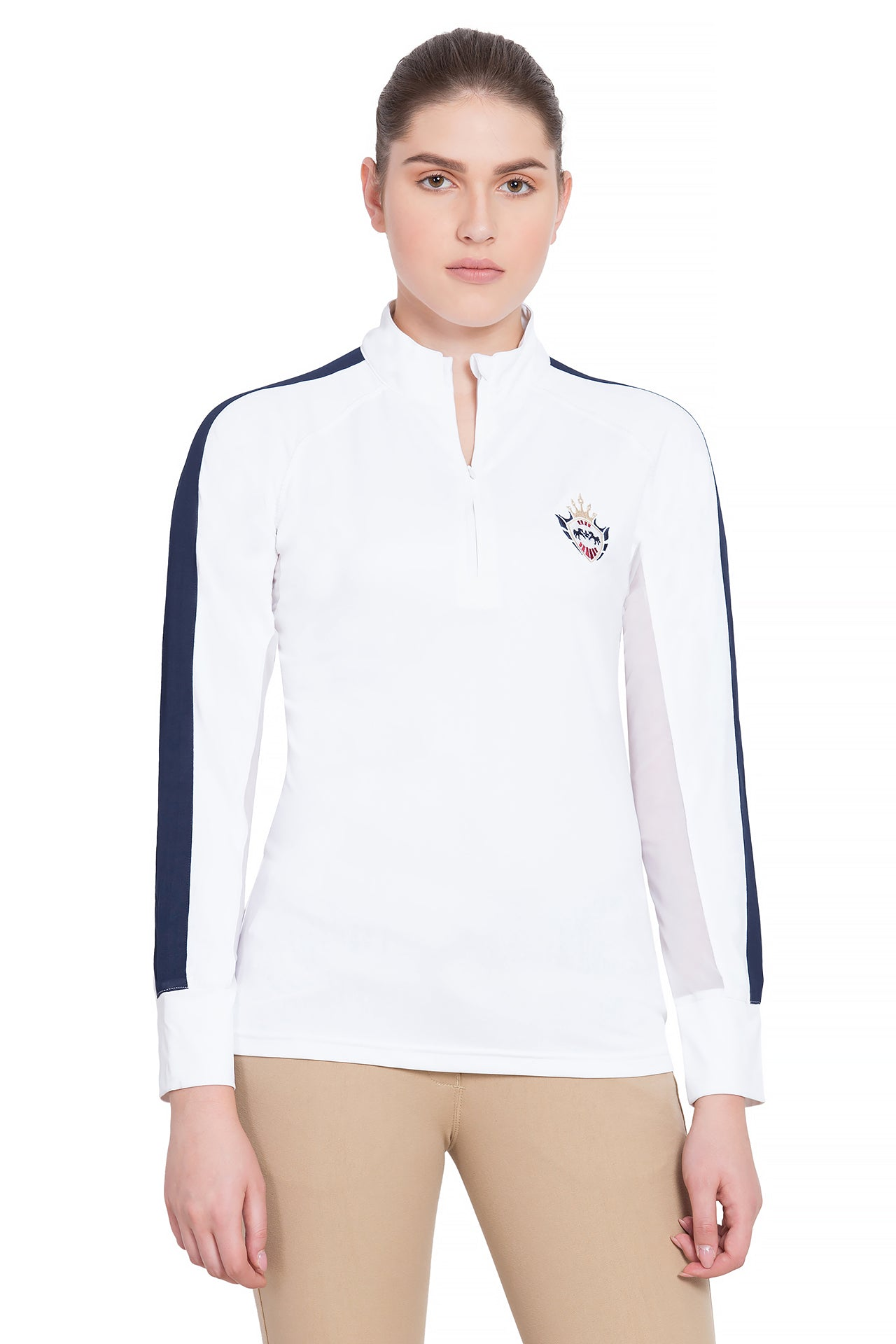 Ladies Jordan Long Sleeve Sport Shirt - Equine Couture - Breeches.com