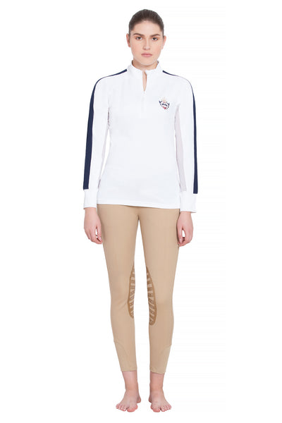 Equine Couture Ladies Jordan Long Sleeve Sport Shirt - Equine Couture - Breeches.com