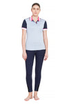 Equine Couture Ladies Pearl Short Sleeve Polo Sport Shirt_5