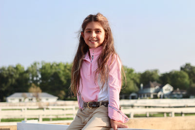 Equine Couture Children's Cara Long Sleeve Show Shirt - Breeches.com