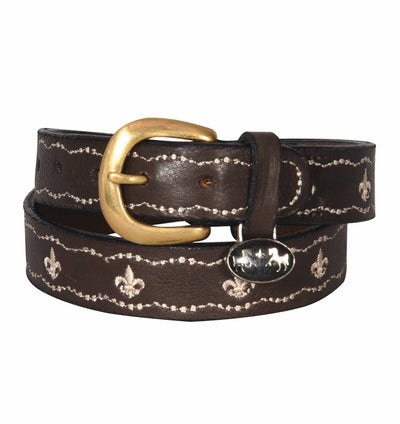 Equine Couture Children's Cacey Leather Belt - Equine Couture - Breeches.com