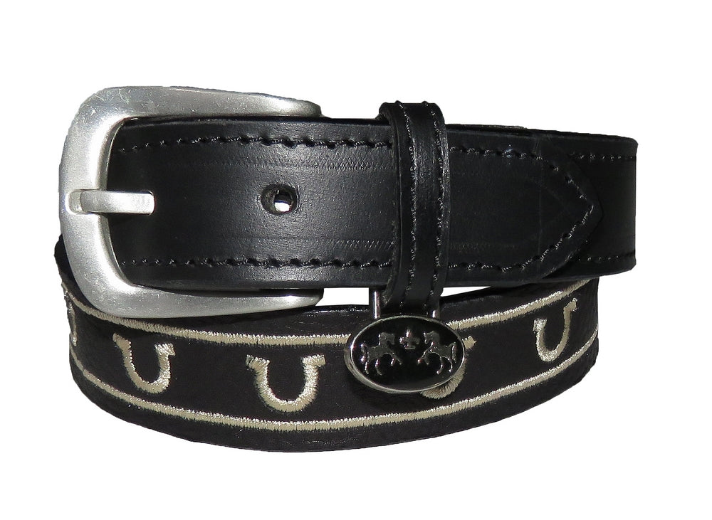 Equine Couture Children's Lee Leather Belt - Equine Couture - Breeches.com