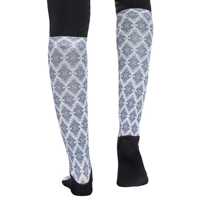 Equine Couture Ladies Tara Technical Padded Knee Hi Boot Socks_4