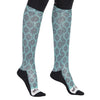 Equine Couture Ladies Tara Technical Padded Knee Hi Boot Socks_8
