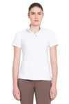 Equine Couture Ladies Cara Short Sleeve Show Shirt - Equine Couture - Breeches.com