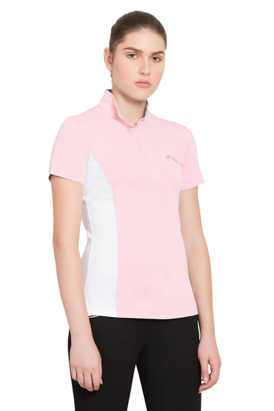 Ladies Cara Short Sleeve Show Shirt - Equine Couture - Breeches.com