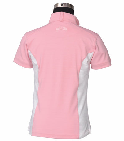 Equine Couture Children's Cara Short Sleeve Show Shirt - Equine Couture - Breeches.com