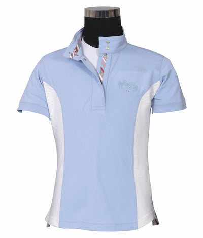 Equine Couture Children's Cara Short Sleeve Show Shirt - Breeches.com