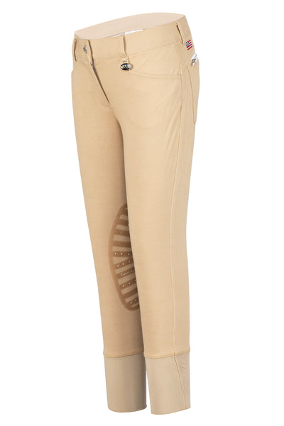 Equine Couture Children's All Star Knee Patch Breeches - Breeches.com