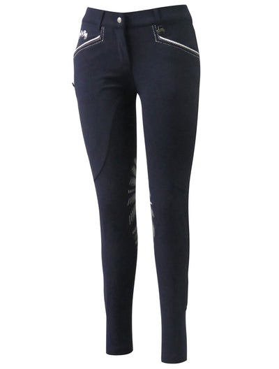 Equine Couture Ladies Lille Knee Patch Breeches_5