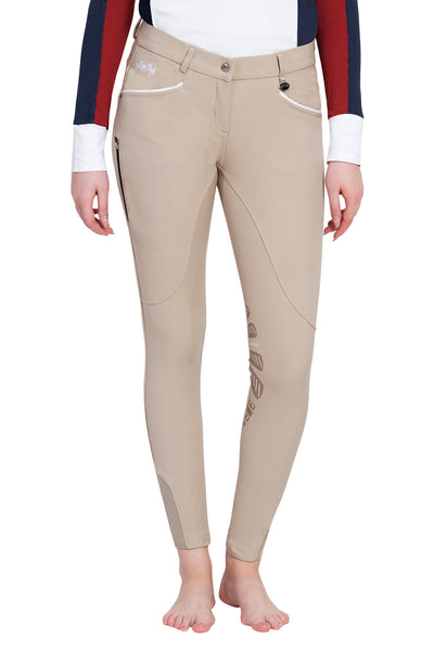 Equine Couture Ladies Lille Knee Patch Breeches_8
