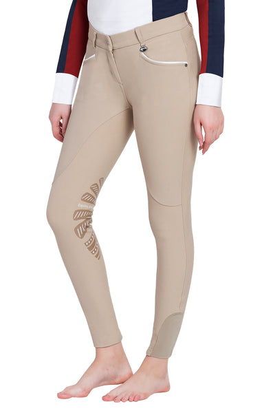 Equine Couture Ladies Lille Knee Patch Breeches_7
