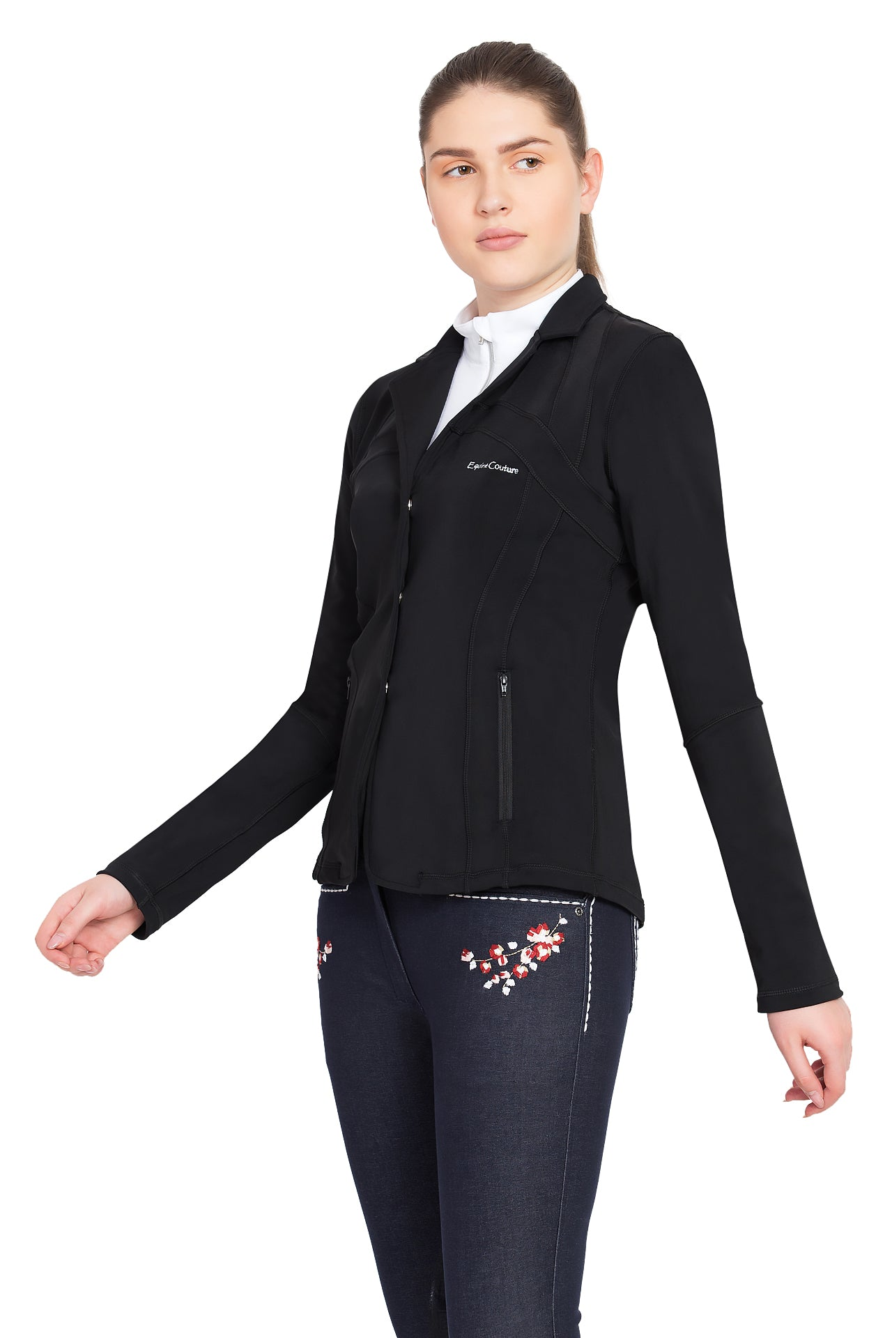 Equine Couture Lacey Ultra Light Show Coat - Breeches.com