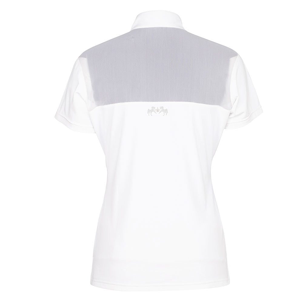 Equine Couture Ladies Giana EquiCool Short Sleeve Show Shirt_2