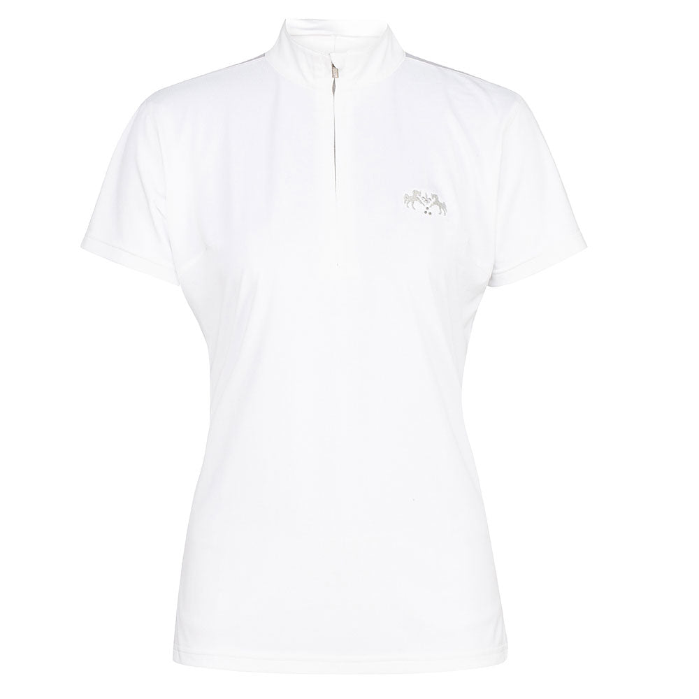 Equine Couture Ladies Giana EquiCool Short Sleeve Show Shirt - Breeches.com