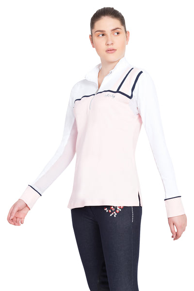 Equine Couture Ladies Nicole EquiCool Long Sleeve Sport Shirt_12