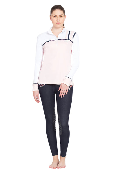 Equine Couture Ladies Nicole EquiCool Long Sleeve Sport Shirt_16