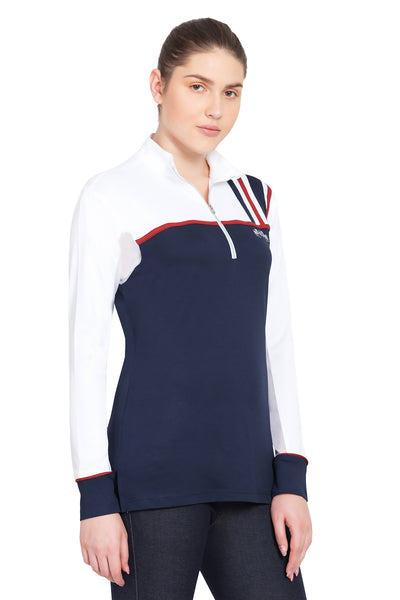 Equine Couture Ladies Nicole EquiCool Long Sleeve Sport Shirt_3