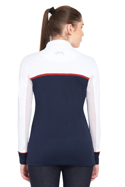 Equine Couture Ladies Nicole EquiCool Long Sleeve Sport Shirt_4