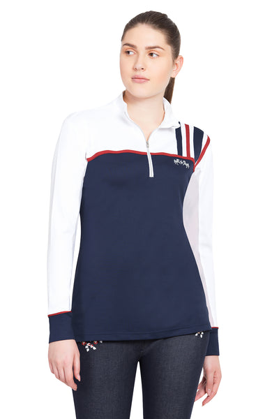 Equine Couture Ladies Nicole EquiCool Long Sleeve Sport Shirt_2