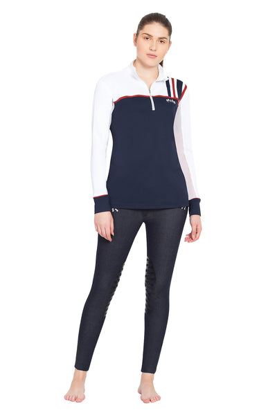 Equine Couture Ladies Nicole EquiCool Long Sleeve Sport Shirt_6