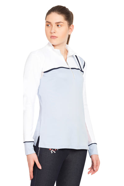 Equine Couture Ladies Nicole EquiCool Long Sleeve Sport Shirt_8