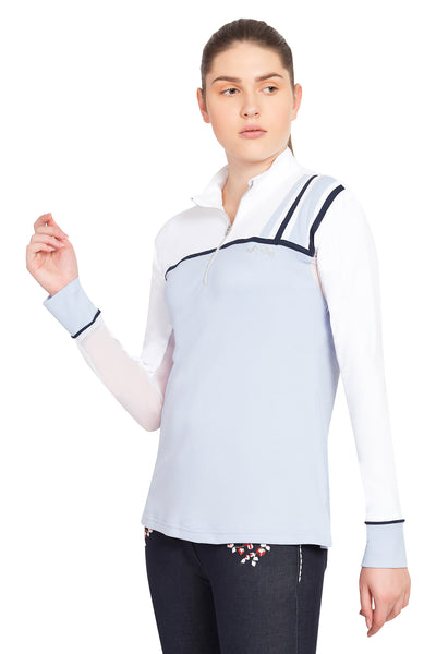 Equine Couture Ladies Nicole EquiCool Long Sleeve Sport Shirt - Equine Couture - Breeches.com