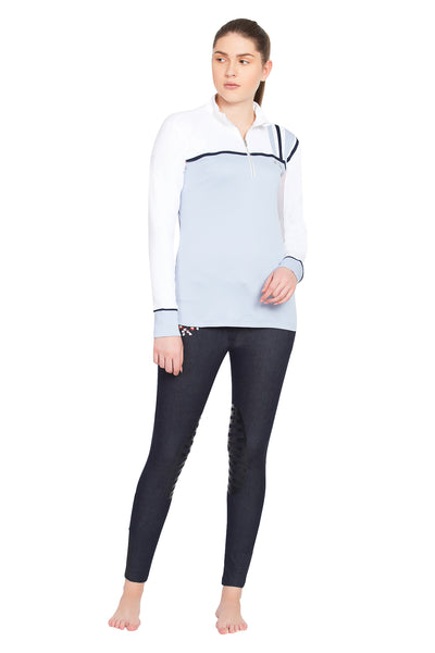 Equine Couture Ladies Nicole EquiCool Long Sleeve Sport Shirt_11