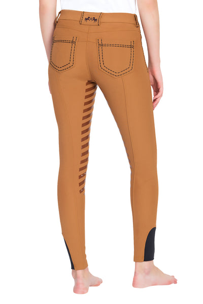 Equine Couture Ladies Nora Extended Knee Patch Breeches_3