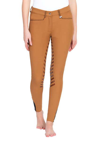 Ladies Nora Extended Knee Patch Breeches - Equine Couture - Breeches.com