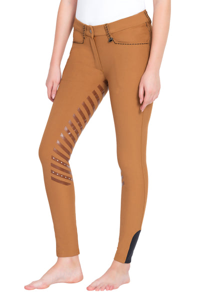 Equine Couture Ladies Nora Extended Knee Patch Breeches_1
