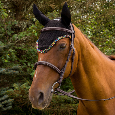 Equine Couture Beaded Fly Bonnet - Equine Couture - Breeches.com