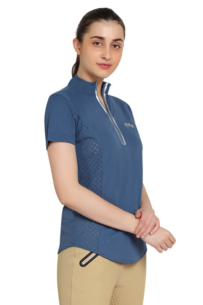EQUINE COUTURE LADIES MALTA SPORT SHIRT - Breeches.com