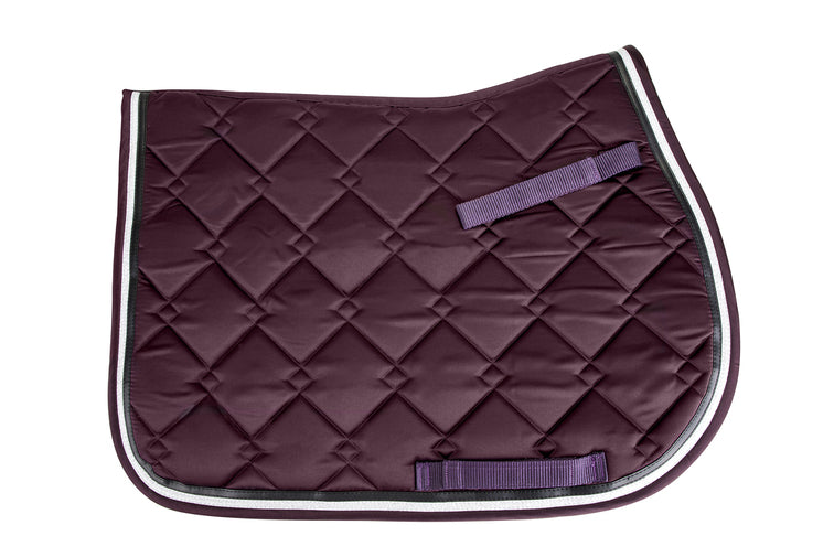 Equine Couture Satin All Purpose Saddle Pad - Equine Couture - Breeches.com
