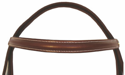 Henri de Rivel Pro Plain Raised Bridle with Laced Reins_4