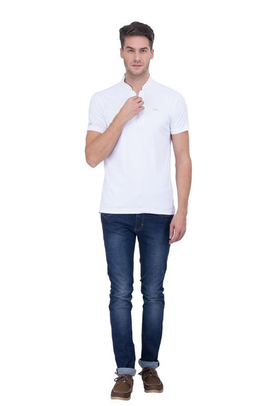 JUMP USA Spinnaker Men's V-Neck Short Sleeve Regular Fit T-Shirt - Breeches.com