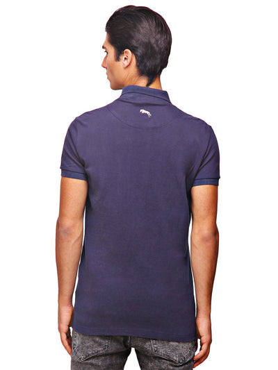 Bermuda Men's V-Neck Short Sleeve Regular Fit Polo Shirt - JUMP USA - Breeches.com